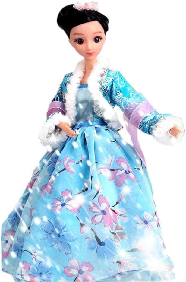 Amazon Com Panda Superstore Winter Fairy Doll Dress Doll Gorgeous China Doll Ball Jointed Doll For Girls Toys Games