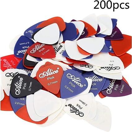 ASAP CHIC - Caja de 40 púas para guitarra eléctrica, acústica ...