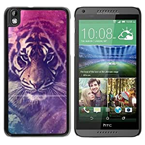 Individual Design Phone Case Of galaxy lion Black Popular Sale HTC Desire 816 Phone Case