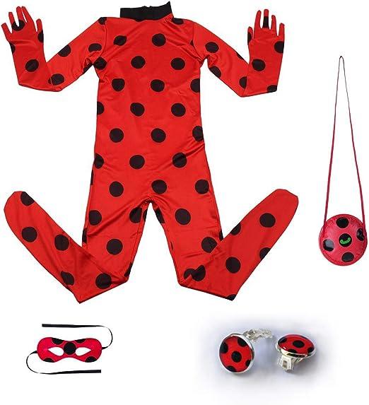 Amazon.com: Disfraz de mariquita para niña, diseño de ...