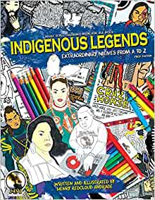 Indigenous Legends Extraordinary Natives Coloring product image