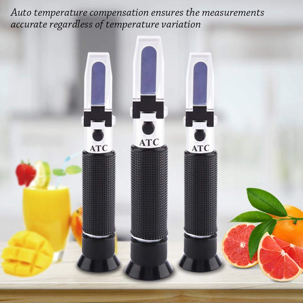 Jeffergrill 3 in 1 Clinical Refractometer Cat Dog Urine Specific Gravity Serum Protein Tester Equipment