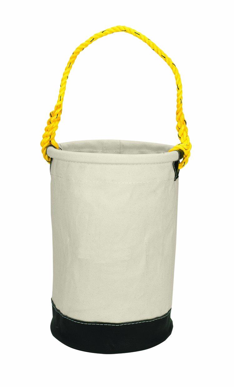 CLC Custom Leathercraft 107 Leather Bottom Utility Bucket, 12-Inch