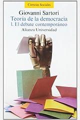Teoria De La Democracia 1 El Debate Contemporaneo Pasta blanda