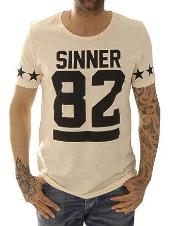 Kultivate Shirts T-Shirts Ts 82 Sinner Usp1501020286-70 Gelb L