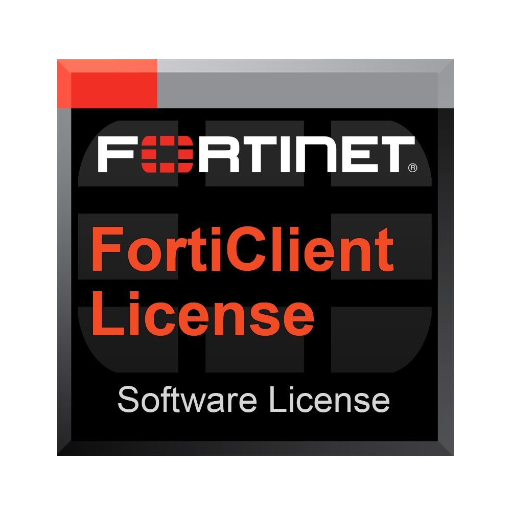 Fortinet FortiClient Endpoint Telemetry & Compliance License Subscription 100 Clients 3 Years - Includes 24x7 Support. by FORTINET