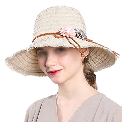 LOVEHATS New Fashion Bohemian Style Summer Sun Hat For Women Hat Large  Visors Beach Hat Brand fce56fc1361