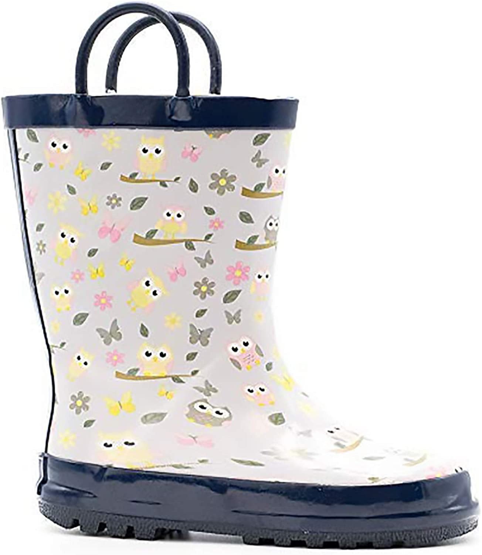 Mucky Wear Childrens Rubber Rain Boot Outdoor Kids Boots