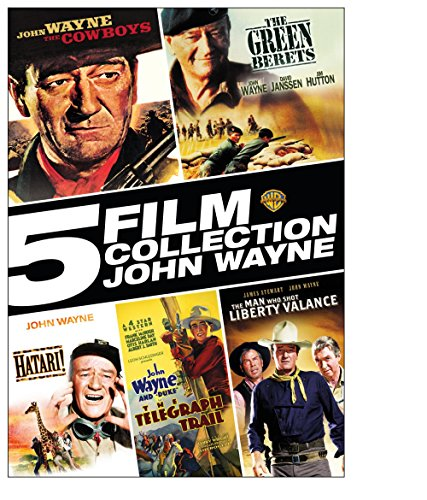 5 Film Collection: John Wayne by WarnerBrothers