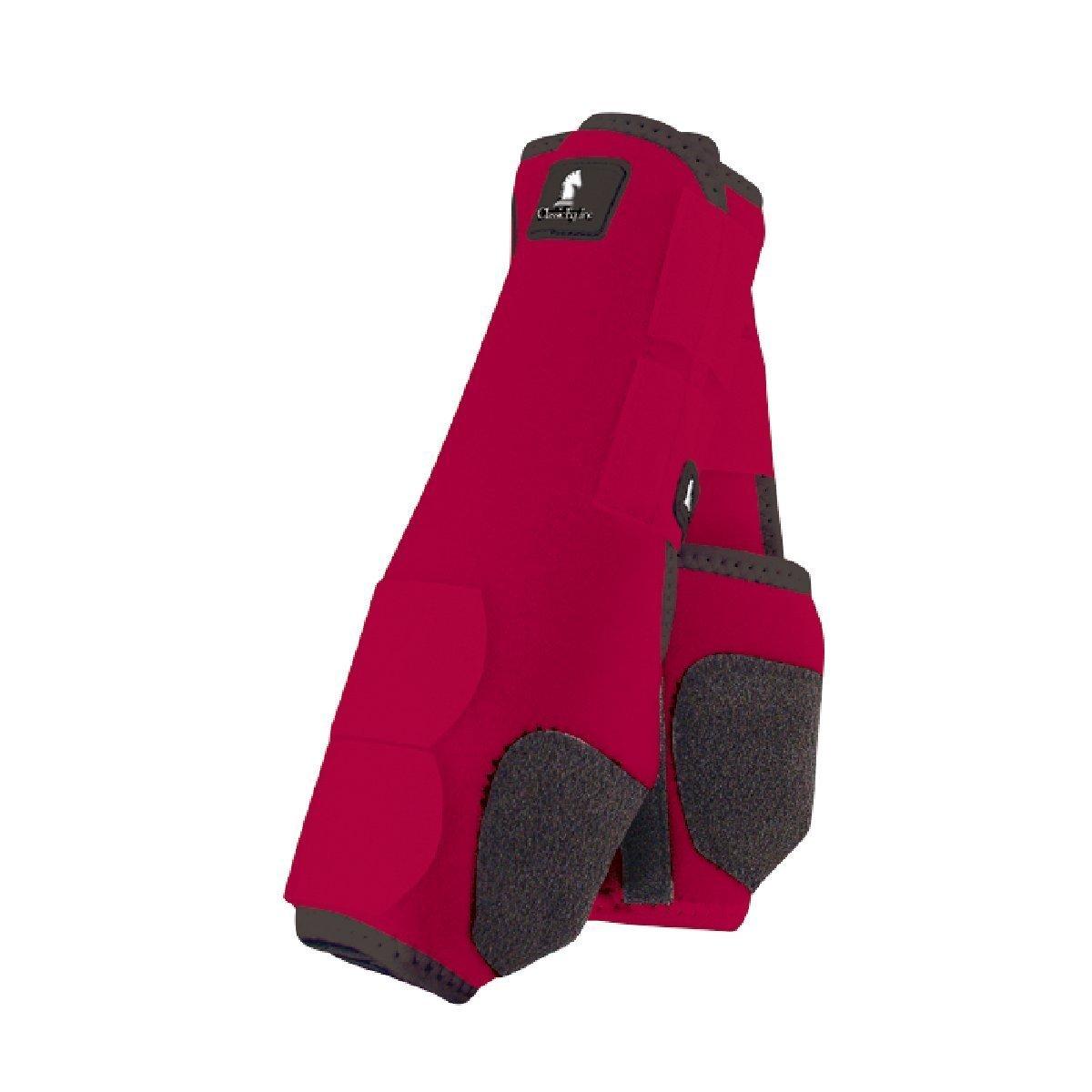 クラシックEquine Legacy SMBブーツ – フロント – すべてのサイズと色 B00C7YVTHK Medium|レッド レッド Medium