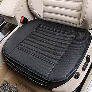 Amazon Com Carmoni Pu Leather Seat Cushion Cover
