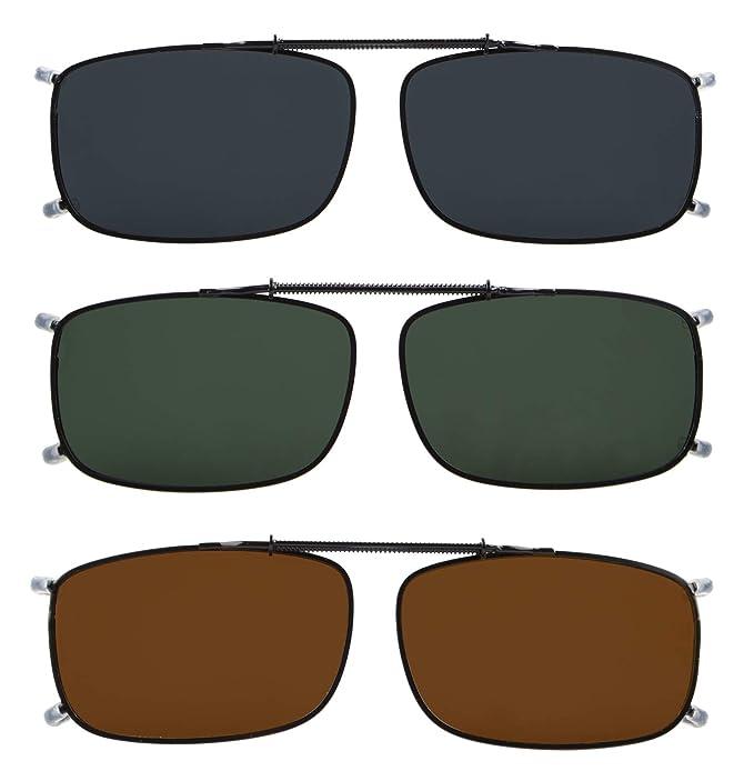 Amazon.com: Eyekepper Gris/Marrón/G15 Lente 3-Pack Clip ...