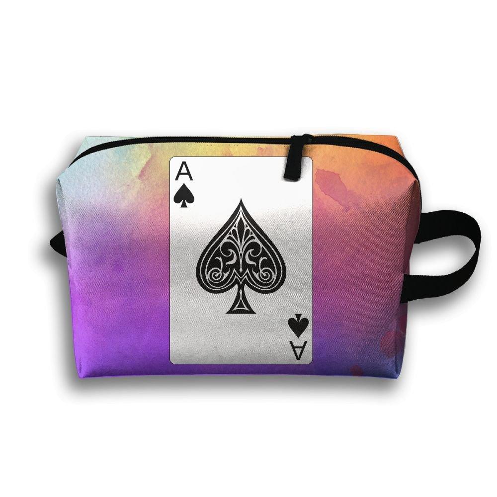 【オープニング大セール】 ztrb Ace Bag Pokerポータブルmake-upジッパーポーチBeautyコスメティックバッグキャリーケースブラシオーガナイザーToiletry Hangingストレージバッグ裁縫キットMedicine B0785DTNYR Bag Ace B0785DTNYR, シキグン:c87ae408 --- eastcoastaudiovisual.com