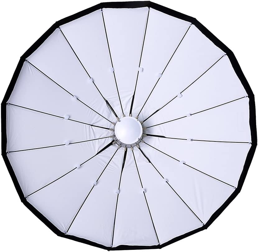 Beauty Dish and Softbox Combination w//Quantum Speedring 80cm Pro Studio Solutions EZ-Pro 32in Flash and Monolights Soft Collapsible Beauty Dish with Speedring for Bayonet Mountable Strobe