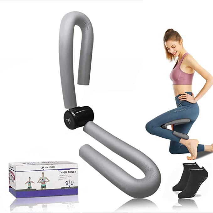 Thigh Master Leg AB Arm Muscle Toner Exercise Machine Home Gym Pick Color  Y4