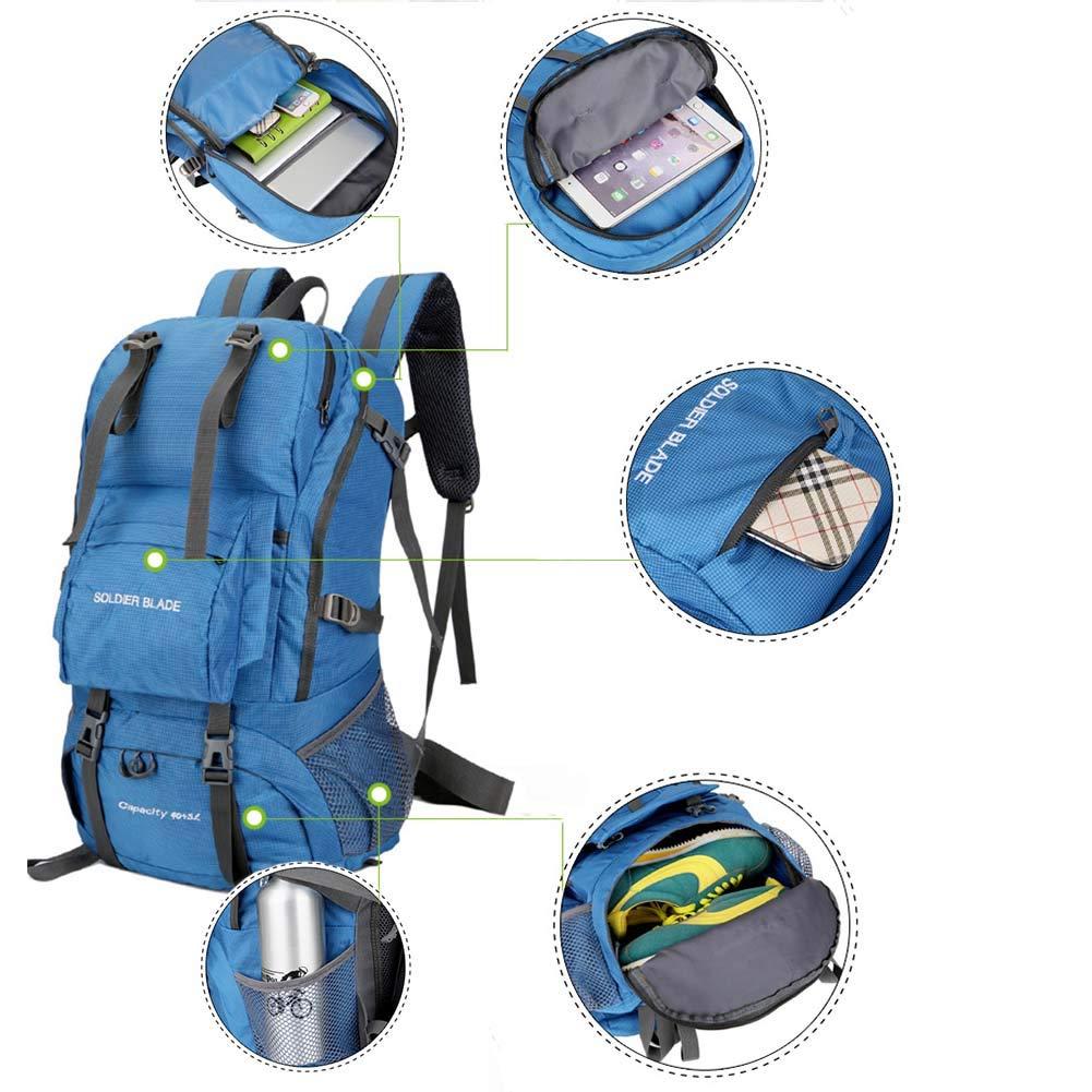 45L Adulte Draussen Bergsteigenbeutel Multifunktion Multifunktion Multifunktion Rucksack für Camping Jagd Trekking B07PPSLDZR Wanderruckscke Haltbarkeit c0b60a