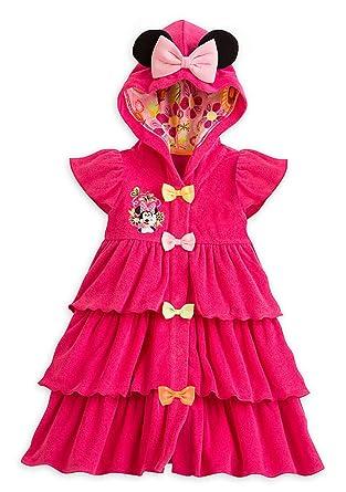 1f35cad0ac Amazon.com: Disney Store Little Girls Minnie Mouse Swim Cover-Up ...