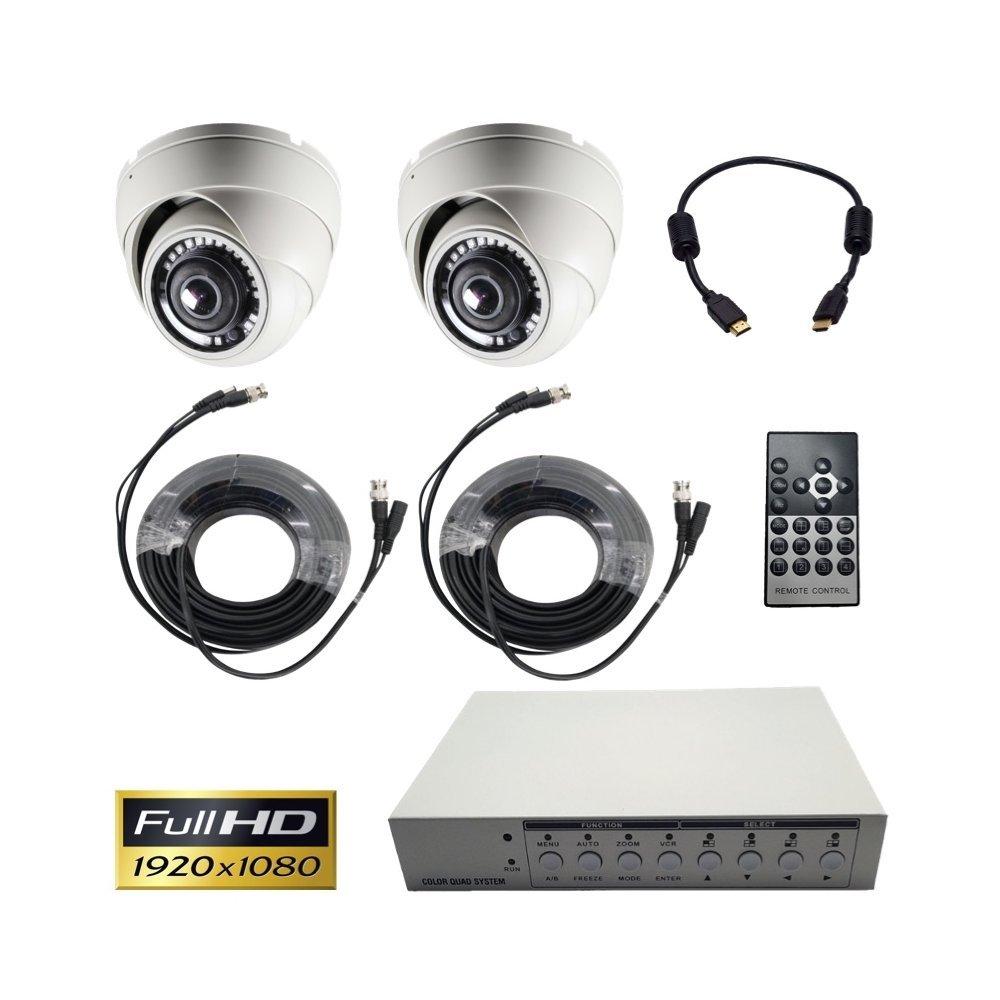 Amazon com : CCTV Camera Pros SYS-VM180 Multiple Security