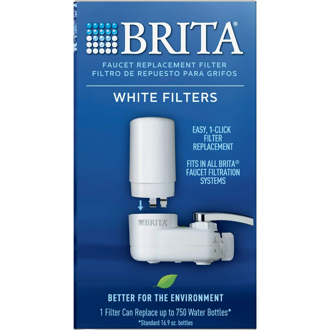 Brita 36313 Faucet Replacement Filters, 3ct, WHITE by Brita (Image #7)