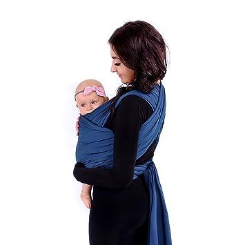 LULANDO Babytragetuch Tragetuch Babytrage Bauchtrage Tragehilfe elastisch weich