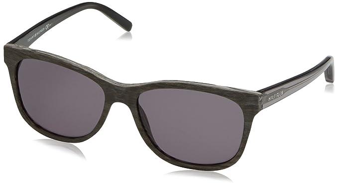 Tommy Hilfiger Gafas de sol TH 1985 E5 Pattern Grey, 56 ...