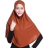 Islamic Muslim Long Hijab Inner Hijab Cap Scarf Cotton Headscarf 20 Color