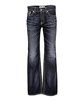 e750e977887 Big Star Men's Vintage Pioneer Bootcut Jeans 4 Year Spencer (31 ...