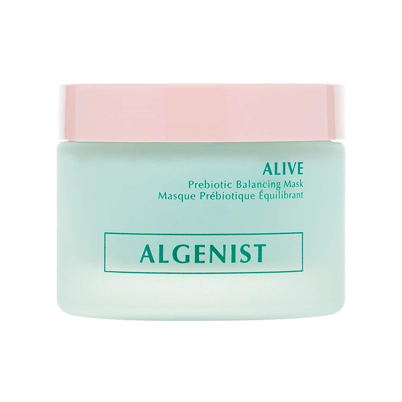 Algenist ALIVE Prebiotic Balancing Mask - Prebiotic + Probiotic Detoxifying Face Mask with Kaolin & Bentonite Clays - Non-Comedogenic & Hypoallergenic Skincare (50ml / 1.7oz)