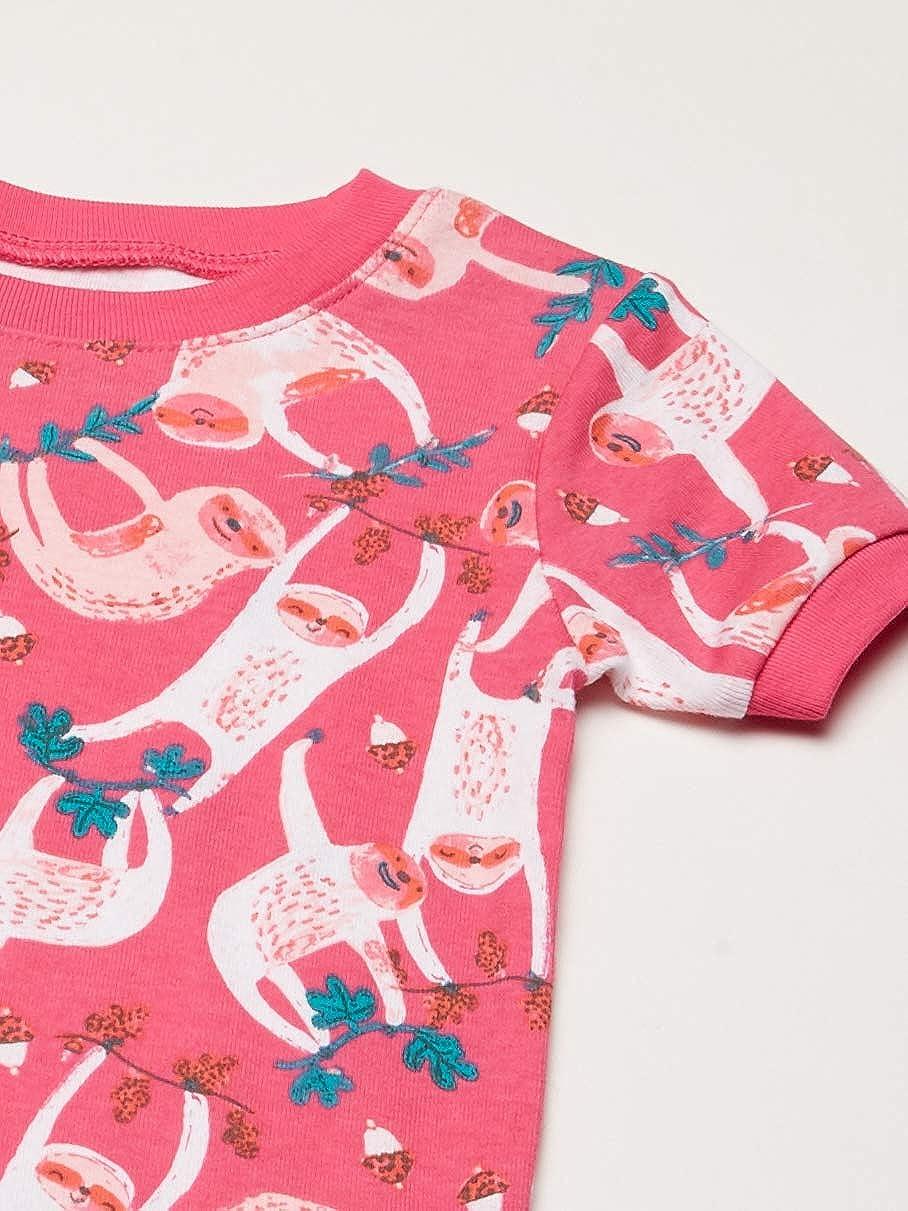 Spotted Zebra 6-Piece Snug-Fit Cotton Pajama Set Unisex-Bambini Marchio
