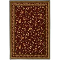 Couristan 1327/0002 Royal Luxury Winslow/Bordeaux 2-Feet 7-Inch by 8-Feet 11-Inch Runner Rug