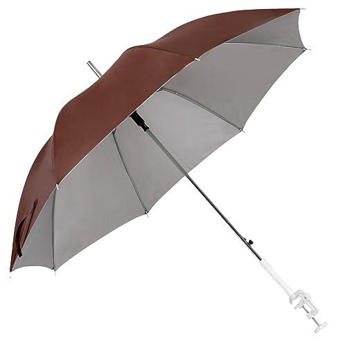 Miadomodo Sonnenschirm Campingstuhl Regenschirm Garten Terrasse Balkon  Strand Shirm Für Stuhl Ø 100cm   Farbwahl