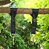 Two 4ft Swing Strap Adjustable Durable and Safety Hanging Rope...