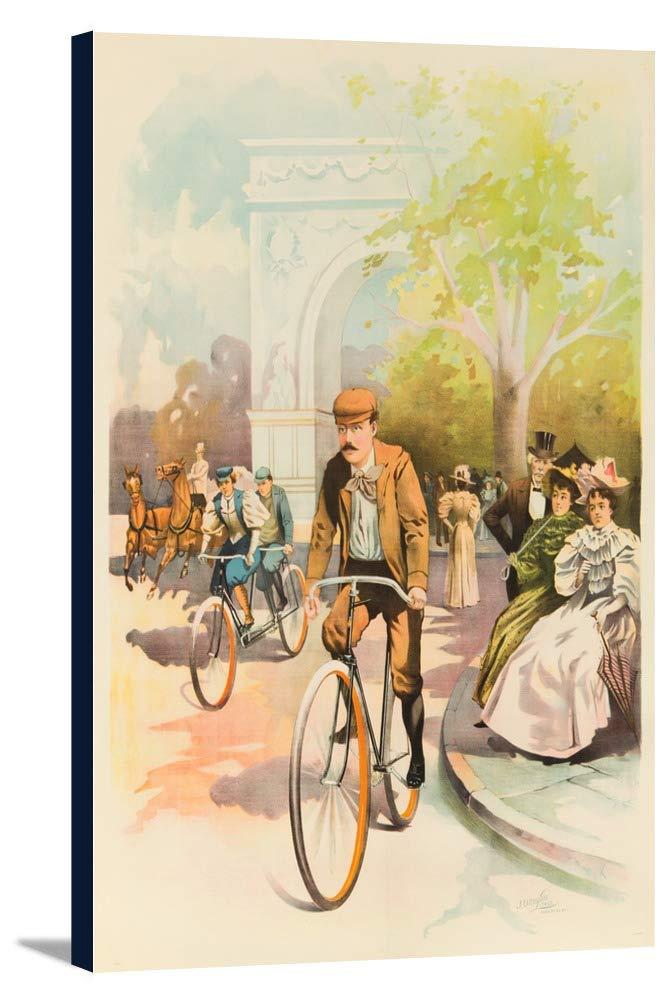 スターリングサイクルヴィンテージポスターUSA C。1896 24 x 36 Gallery Canvas LANT-3P-SC-63062-24x36 24 x 36 Gallery Canvas  B0184B35S0