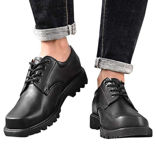 POachers Zapatos Cuero Hombre Casual Zapatos Herramientas Verano ...