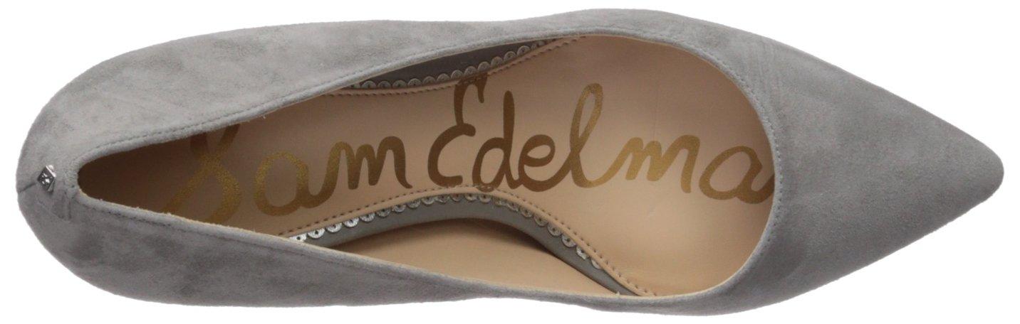 Sam Edelman 10.5 Women's Tristan Pump B01N1RYDME 10.5 Edelman B(M) US|Grey Frost Suede 5ed9ed