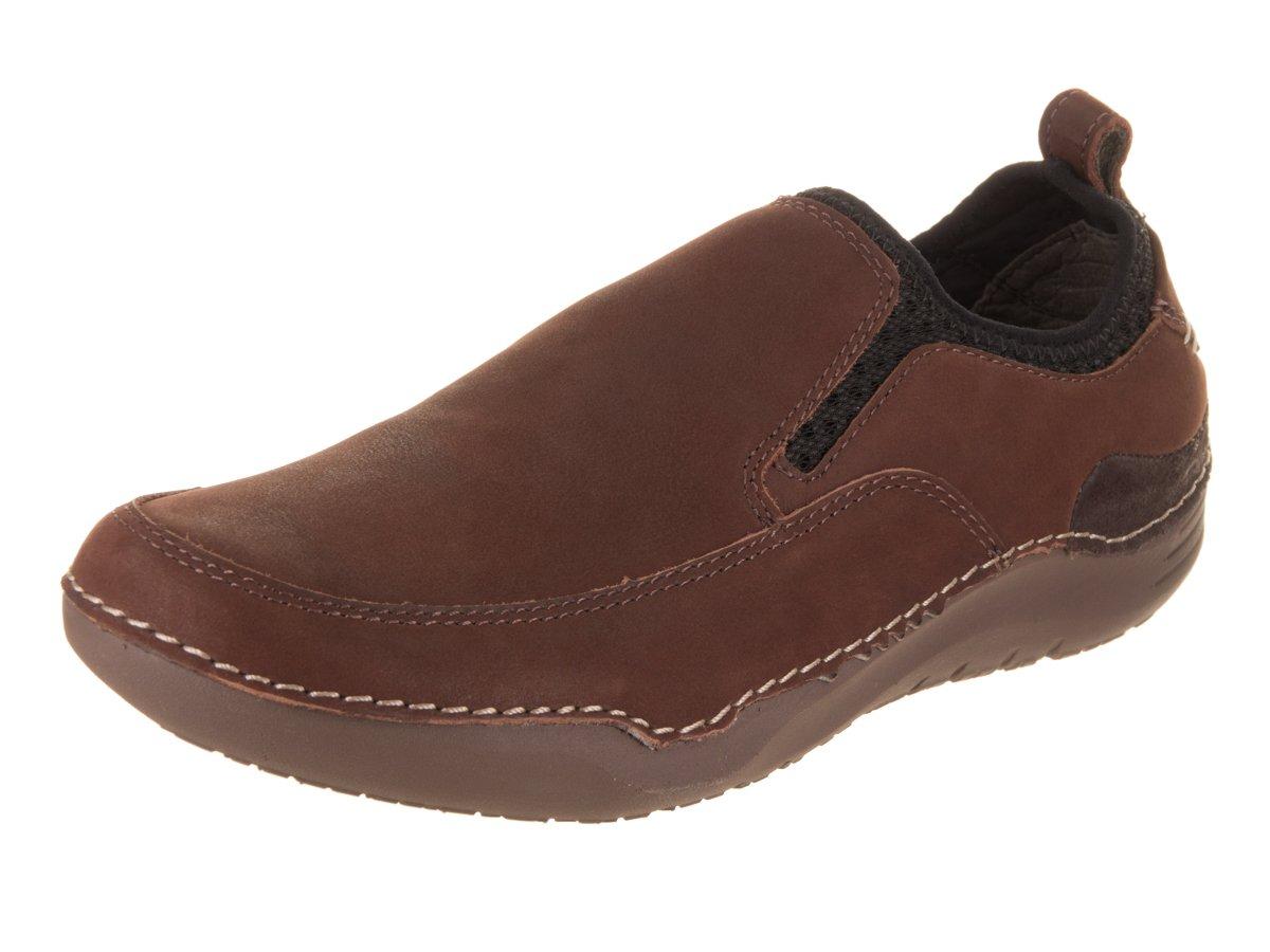 Hush Puppies Men's Crofton Method Slip-On Loafer, Brown Leather, 9.5 M US