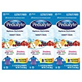 Health & Personal Care : Pedialyte Electrolyte Powder, Electrolyte Drink, Variety Pack, Powder Sticks, 0.3 oz (24 Count)