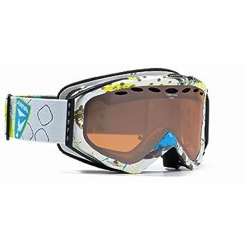 ALPINA Gafas de esquí Turbo HM a70368 Hybrid Mirror Blanco y Rojo de Pop, Blanco, Gris: Amazon.es: Deportes y aire libre
