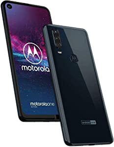 Motorola One Action - Made for Latin America & Brazil - (Grey, 128GB, 4GB RAM) - Unlocked - GSM Latin American & Brazilian Bands - (Missing Specific U.S. GSM Bands) - No Warranty - No CDMA - XT2013-1