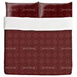 Earthy Mosaic Duvet Bed Set 3 Piece Set Duvet Cover - 2 Pillow Shams - Luxury Microfiber, Soft, Breathable