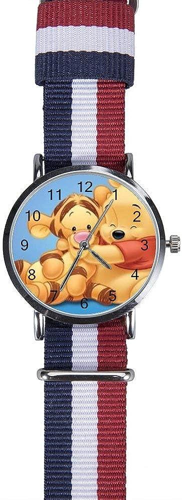 Winnie The Pooh and Tigger Watch Leisure Wristwatch Quartz