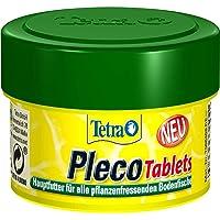 Tetra Pleco tablets – voedingsrijke hoofdvoeding voor alle plantenetende bodemvissen (bijv. meerval), verschillende…