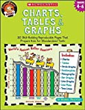 Charts, Tables & Graphs, Grades 4-6 (Funnybone Books)