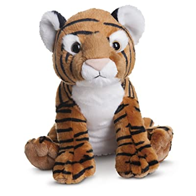 Aurora World Destination Nation Tigre en peluche (Orange/Noir/Blanc/Rose)