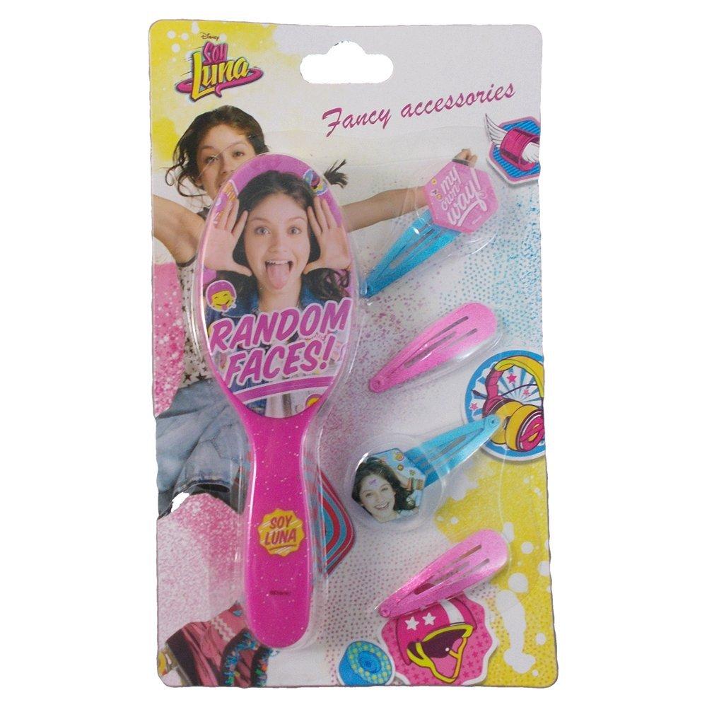 Blister cepillo horquillas Soy Luna Disney Kids Euroswan WD18136