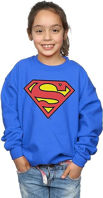 DC Comics niñas Superman Logo Camisa De Entrenamiento: Amazon.es: Ropa y accesorios