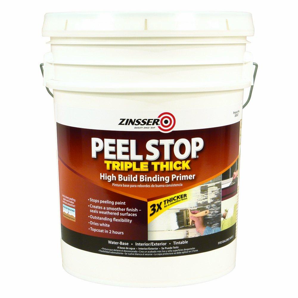Zinsser 260927 Peel Stop Triple Thick Primer, 5-Gallon