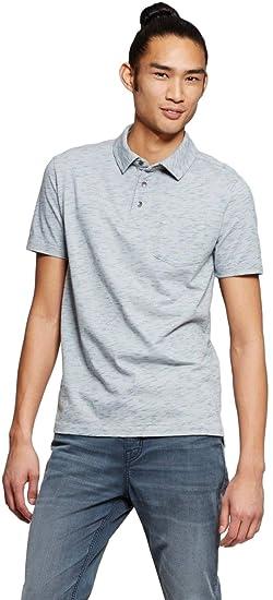 e2963def2 Mossimo Men's Short Sleeve Polo Shirt (Small, Porcelain Gray) at ...