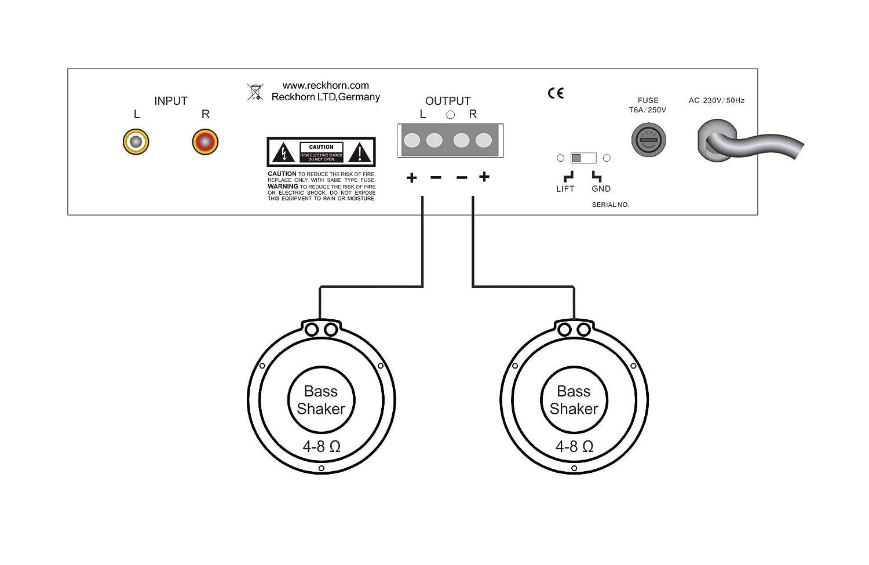 Stupendous Digitaler Stereo Oder 2 X Mono Subwoofer Amazon De Elektronik Wiring Cloud Tobiqorsaluggs Outletorg