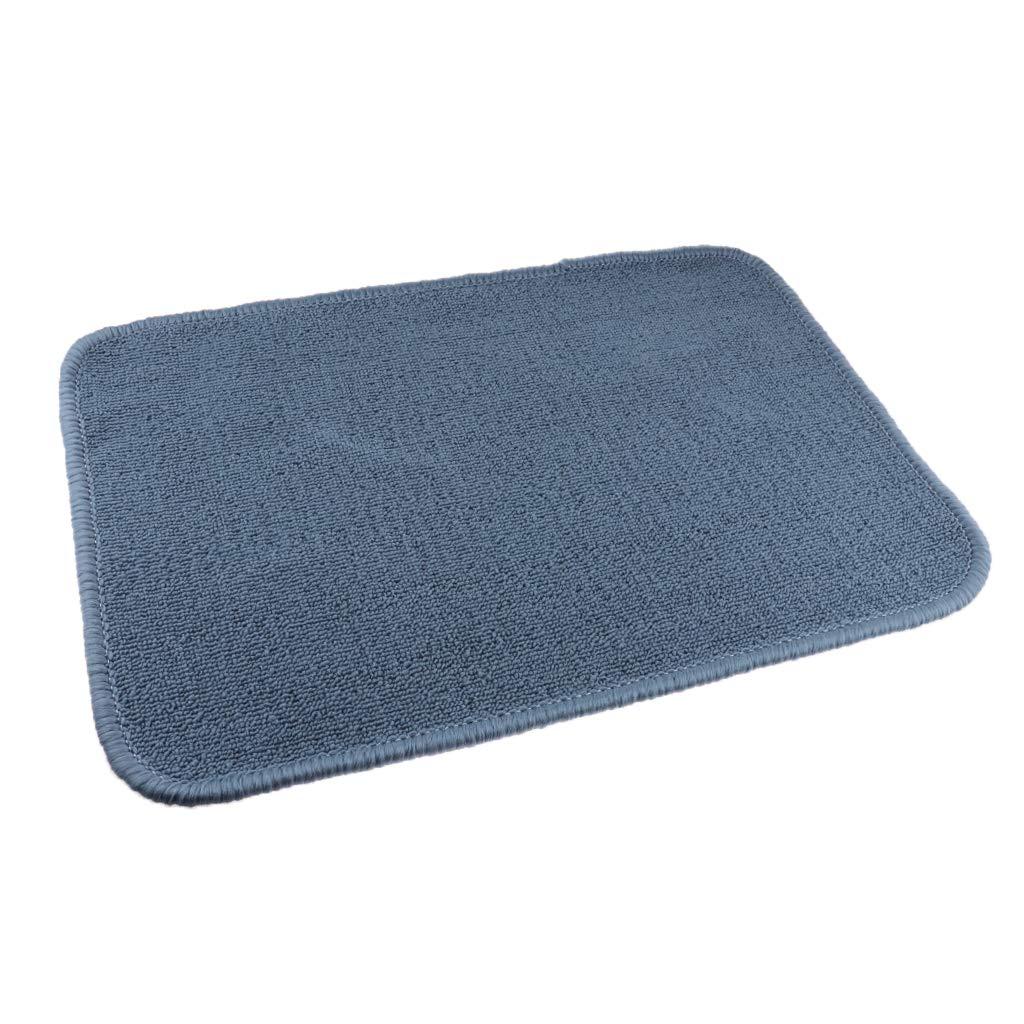 60x40cm Bleu 3 Couleurs Disponibles PETSOLA Tapis De Jeu Tapis De Travail Montessori Materials Nappe De Table